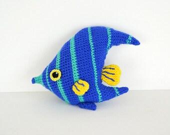 Free Amigurumi Fish Pattern : Fish crochet fish pattern crochet baby rattle fish baby rattle