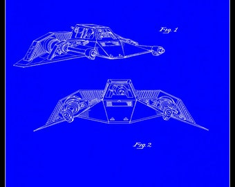 Snow Speeder Patent# 267025 dated November 23, 1982.