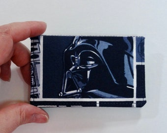 Blue Darth Vader Star Wars Mini Wallet