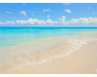 Beach Art Print - Turks and Caicos - Wall Decor - Photography