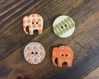4 Button Magnets