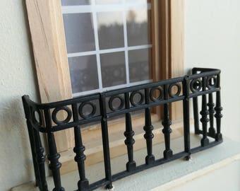 Miniature balcony, 1:12 scale