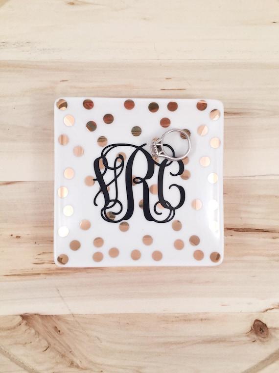 Preppy Polkadots - Ring Dish