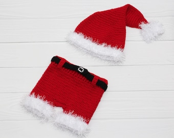 Coming Home Outfit baby boy Santa Outfit Newborn Christmas Outfit Santa photo prop Newborn santa outfit My first christmas outfits for boys