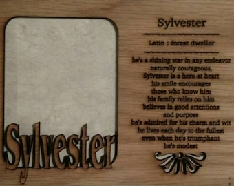 Name meaning etsy name meaning mat insert for 5x7 frame no frame included first name meaning personalized negle Gallery