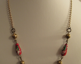 2849- Necklace. Chinese Pearls