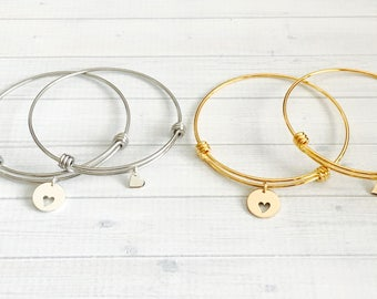 Mother Daughter Bracelet Set - Mother Daughter Jewelry - 2 Piece Bracelet - Mom Daughter Gift - Mother's Day Gift Set for Mom and Daughter