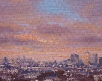 Skyline from Greenwich Park