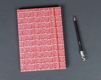 red address Book , personalized address book, address, address book , telephone book, flowerd adress book, red white adress book