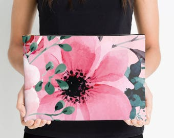 Floral Nappy Pouch, Nappy Pouch, Nappy Wallet, Diaper Case, Toiletry Bag, Nappy Clutch, Baby Change Wallet, Nappy Bag, Studio Pouch