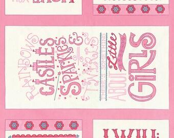 HUGABOO Fabric Blocks PANEL // Moda Fabric Squares by Deb Strain