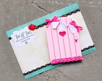 Behind the Fairy Door -Fairy Door - Tooth Fairy Door - Fairy Garden - Little Fairy Door - Tooth Fairy Ideas - Tooth Fairy Traditions - OOAK