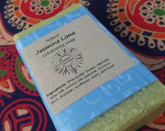 Naked Jasmine Lime Soap