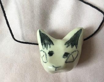 Kitsune necklace
