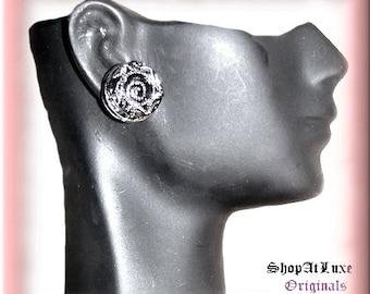 Crystal Post Earrings
