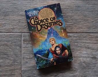 "Vintage 1986 Paperback - ""A Choice of Destinies"" by Meissa Scott"
