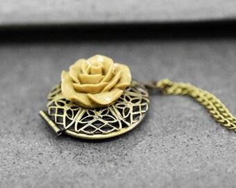 Autumn Locket Necklace (VIK-158)