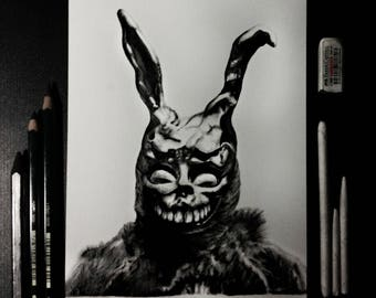 Donnie Darko Frank print