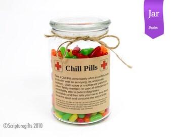 Funniest Chill Pill Jar DOCTOR Theme