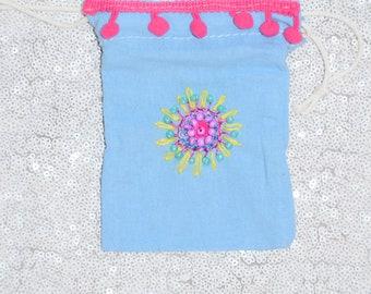 3 Handmade Favor bags