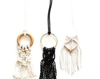 DIY Macrame Necklace Kit