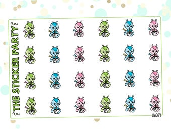 Lumi Takeout Noodles Planner Stickers