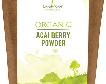 Organic Acai Berry Powder - 200g