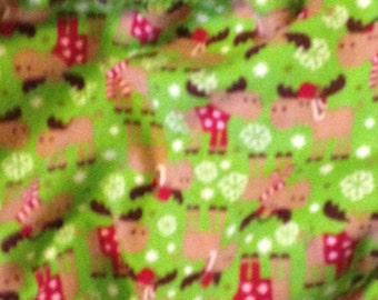 Holiday Dog bandana, mighty moose