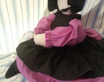 Amish Country Doll in Pink
