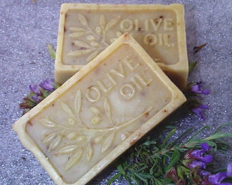 All Natural Handmade Olive Oil Soap Lavender Scented