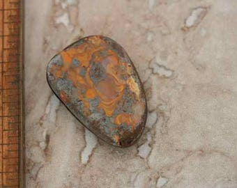 Boulder Opal Cabochon. Cab. Beadwork, Jewelry making, Jewelry supply. Metal work.