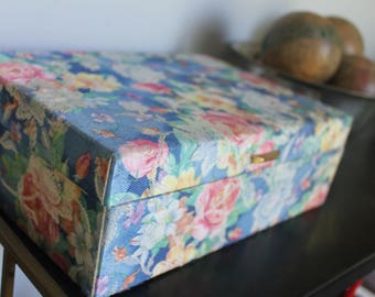 Floral jewelry box Etsy