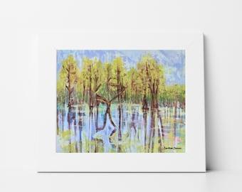 Wall Art Print, Landscape Print, Art Print, 5x7, 8x10