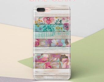 Flowers Wood iPhone 7 Case iPhone X Case iPhone 6s Case iPhone 6S Plus Case iPhone 8 Plus Case Tough iPhone 6 Case Galaxy S6 Edge Cas CG1316