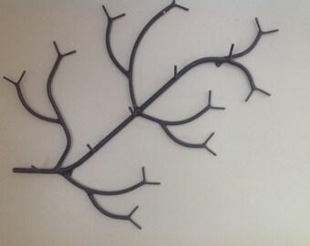 """36"""" 6 hook branch coat rack"""