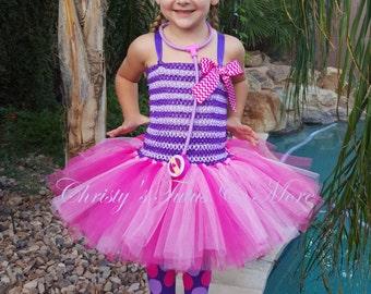 Doc McStuffins tutu dress/Doc Mcstuffins costume/Doc Mcstuffins outfit