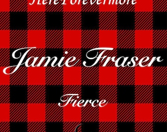 Jamie Fraser Outlander Soy Candle // Fierce // Modern Literature Collection