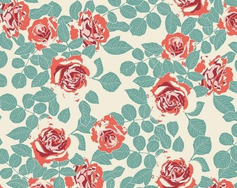 Woodlands Fusion Collection Pruning Roses by Bari J Art Gallery Fabric Choose your cut