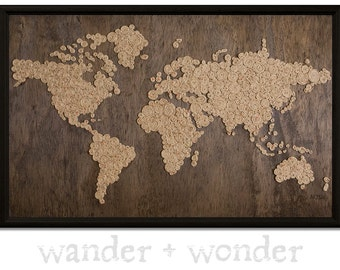 World map pin board etsy gumiabroncs Gallery