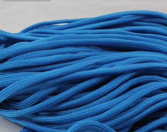 5 Metters blue Paracord - survival bracelet