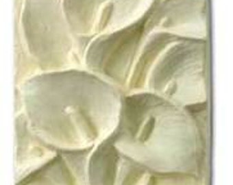Calla Lilies Glycerin Soap Bar Lily Flowers White Feminine Floral U Pick Scent