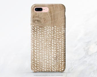 iPhone 8 Case iPhone X Case iPhone 7 Case Floral Wood Print iPhone 7 Plus Case iPhone SE Case Tough Samsung S8 Plus Case Galaxy S8 Case I117
