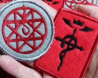 Fullmetal Alchemist patches