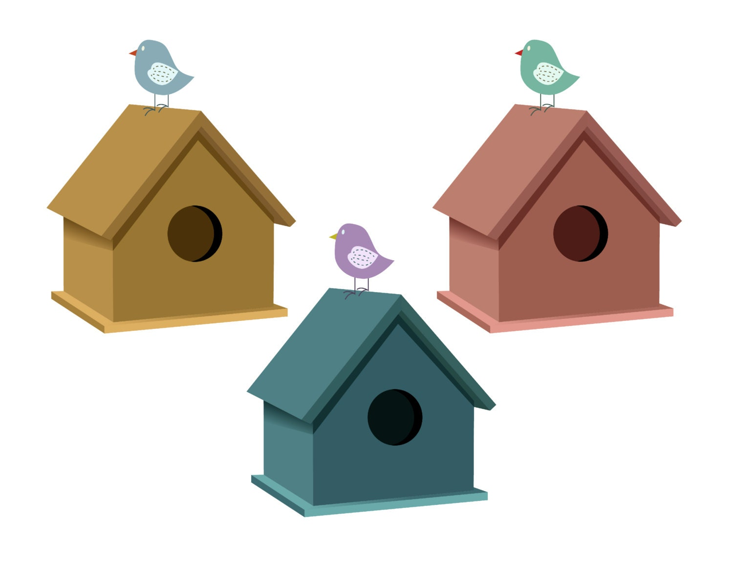 bird clip art bird house clipart birdhouse illustration animals rh etsystudio com cute birdhouse clipart birdhouse clipart free