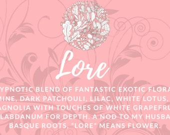 LORE NATURAL FRAGRANCE 15 ml