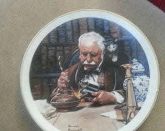 "Norman Rockwell Collectible Plate ""The Tinker"""