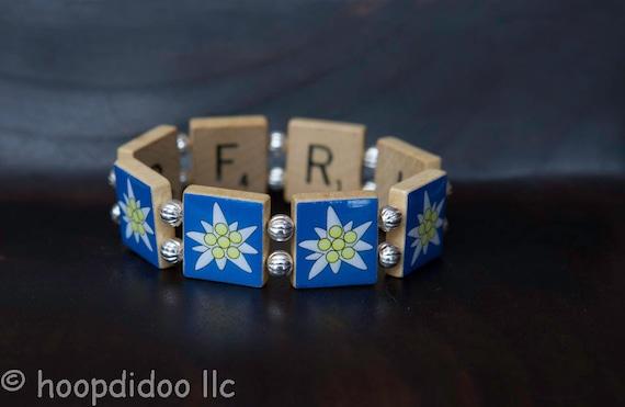 Blue Edelweiss Bracelet