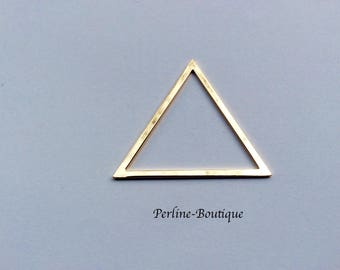 Insert 39 * 35mm gold plated triangle