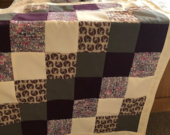 Block patchwork quilt