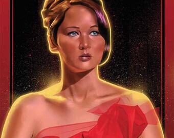 Katniss Everdeen Hunger Games Poster